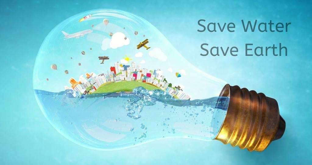 Save water for a greener Earth