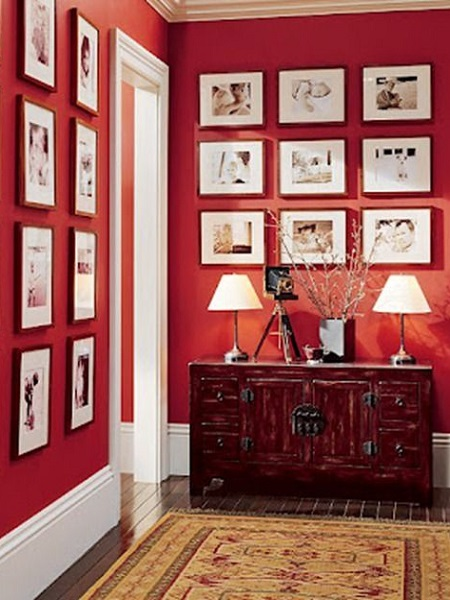 Interior - Hues of Statement Red - Neutrino Burst