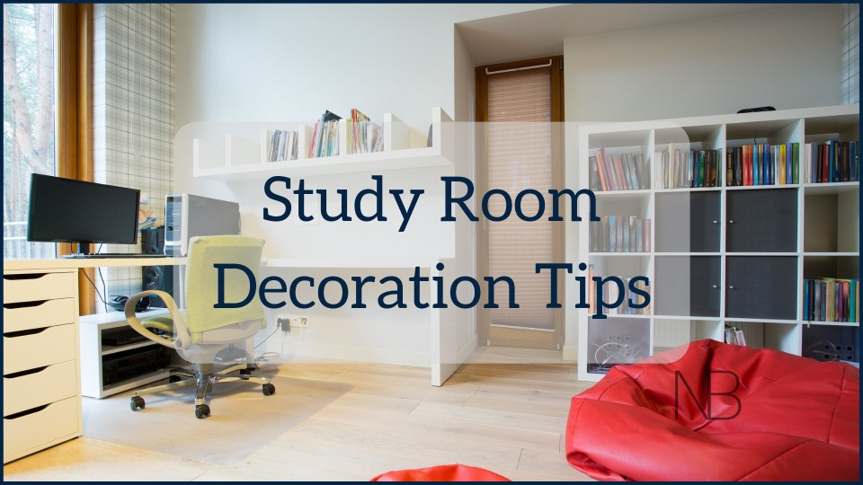 How to decorate your study room - Neutrino Burst