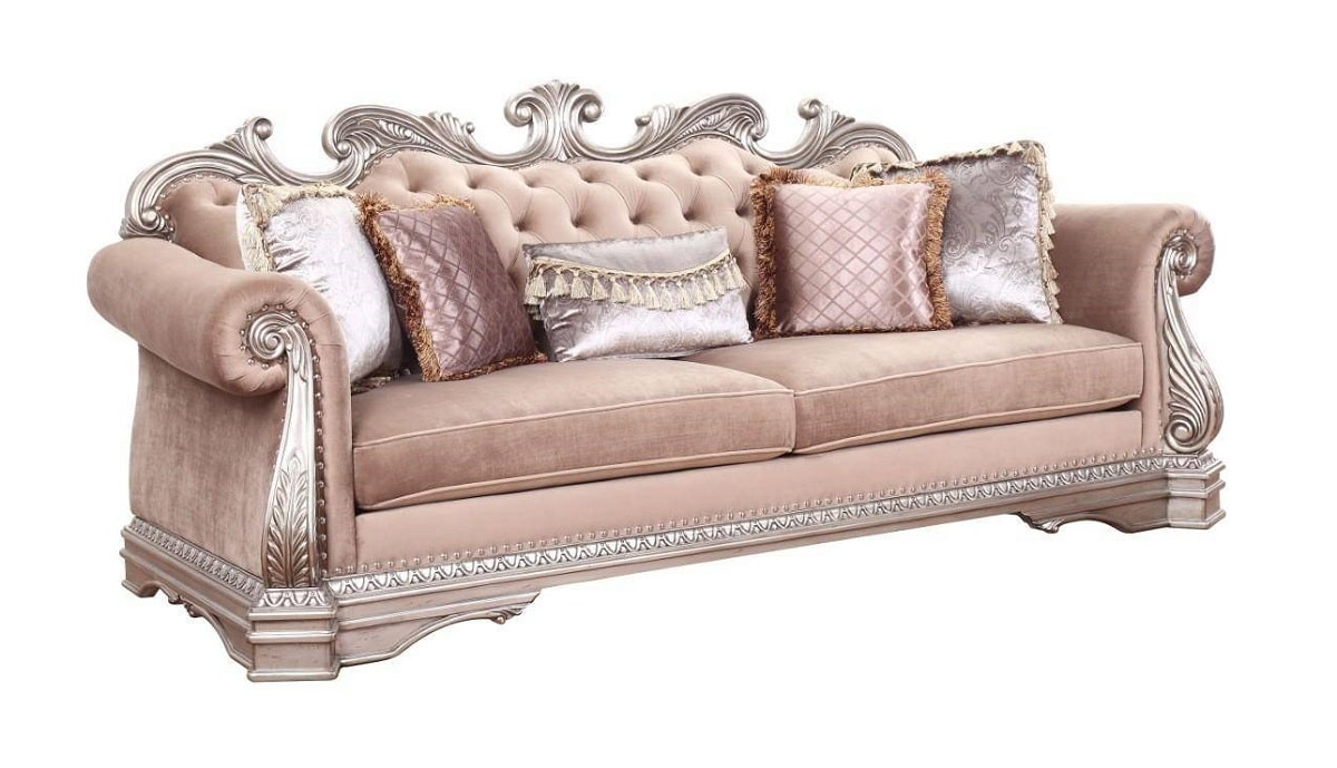 Traditional Tufted sofa