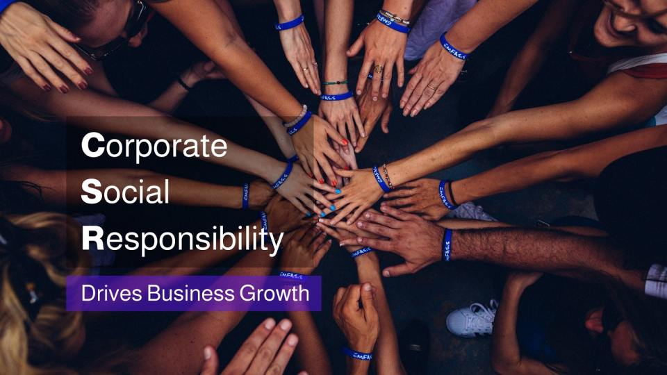 How Corporate Social Responsibility (CSR) drives business growth - Neutrino Burst!