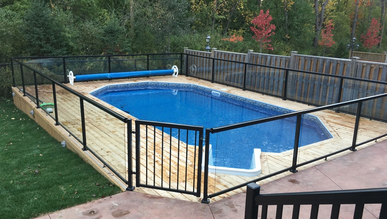 Pool safety fencing for children - Neutrino Burst!